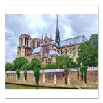 paris notra dam B.jpg Square Car Magnet 3