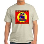 Boycott Made In China K9 Kill Ash Grey T-Shirt