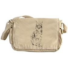 lynx cougar wild cat bobcat Messenger Bag