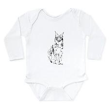 lynx cougar wild cat bobcat Long Sleeve Infant Bod