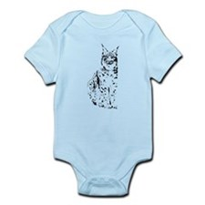 lynx cougar wild cat bobcat Infant Bodysuit