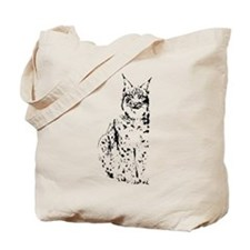 lynx cougar wild cat bobcat Tote Bag