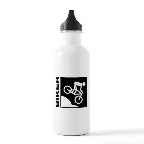 biker cycling mountain bike mtb downhill Stainless