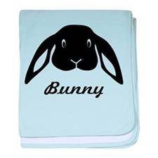 bunny hare rabbit cute baby blanket