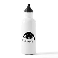 bunny hare rabbit cute Water Bottle