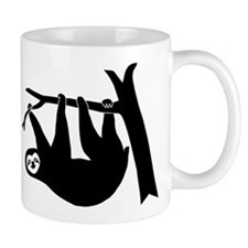 sloth lazy animal freeclimber Coffee Mug