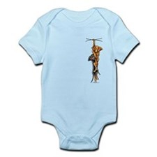 Clingy Dachshunds Infant Bodysuit