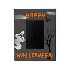Happy Halloween Ghost Picture Frame