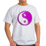 Yin Yang Purple T-Shirt