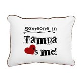 lovesmetampa.png Rectangular Canvas Pillow