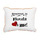 lovesmeflorida.png Rectangular Canvas Pillow