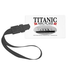 Titanic Ghost Ship (white) Luggage Tag w/ID