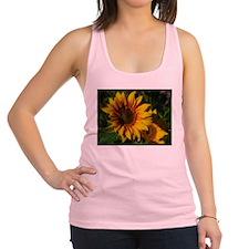 Sunny Sunflower Racerback Tank Top