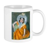 Cassatt - Orange Dress Small Mugs