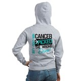 Cervical Cancer Wrong Diva Zip Hoodie
