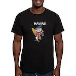 Hawaii Men's Fitted T-Shirt (dark)