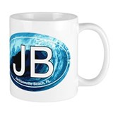 JB Jacksonville Beach Wave Coffee Mug