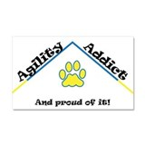 Agility Addict Car Magnet 20 x 12