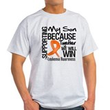 Support Son Leukemia T-Shirt