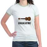 Ukanlayme Ukulele Jr. Ringer T-Shirt