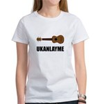 Ukanlayme Ukulele Women's T-Shirt