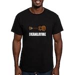 Ukanlayme Ukulele Men's Fitted T-Shirt (dark)