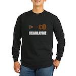 Ukanlayme Ukulele Long Sleeve Dark T-Shirt