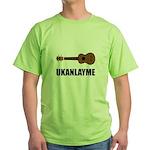 Ukanlayme Ukulele Green T-Shirt