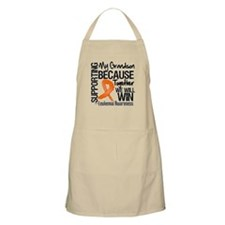Support Grandson Leukemia Apron