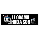Empty Chair Jr Bumper Sticker