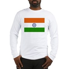 Indian Flag Long Sleeve T-Shirt