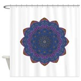 Alchemy Petal Mandala Shower Curtain