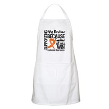 Support Brother Leukemia Apron