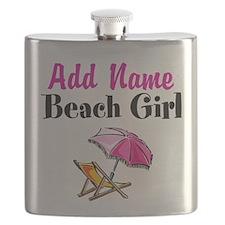 BEACH GIRL Flask
