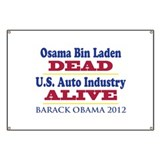 bin Laden is DEAD, the U.S. auto industry is ALIVE