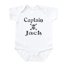 Captain Jack (distressed) Infant Creeper
