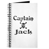 Captain Jack (distressed) Journal