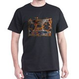 Boom Box Black T-Shirt