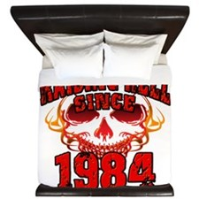 Raising Hell since 1984.png King Duvet