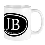 JB Jacksonville Beach Oval Mug