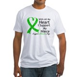 Support Niece Green Ribbon Shirt