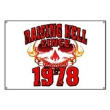 Raising Hell since 1978.png Banner