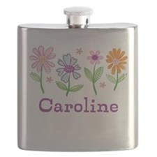 Daisy Garden Flask