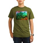 Green Mountains Organic Men's T-Shirt (dark)