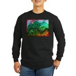 Green Mountains Long Sleeve Dark T-Shirt