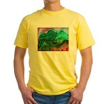 Green Mountains Yellow T-Shirt