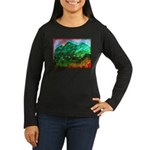 Green Mountains Women's Long Sleeve Dark T-Shirt