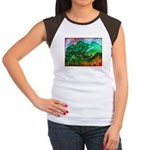 Green Mountains Women's Cap Sleeve T-Shirt