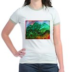Green Mountains Jr. Ringer T-Shirt