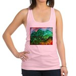Green Mountains Racerback Tank Top